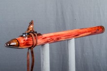 Easter Red Cedar Burl Native American Flute, Minor, Low C - 4, #N4H (1)