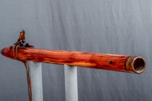 Easter Red Cedar Burl Native American Flute, Minor, Low C - 4, #N4H (6)